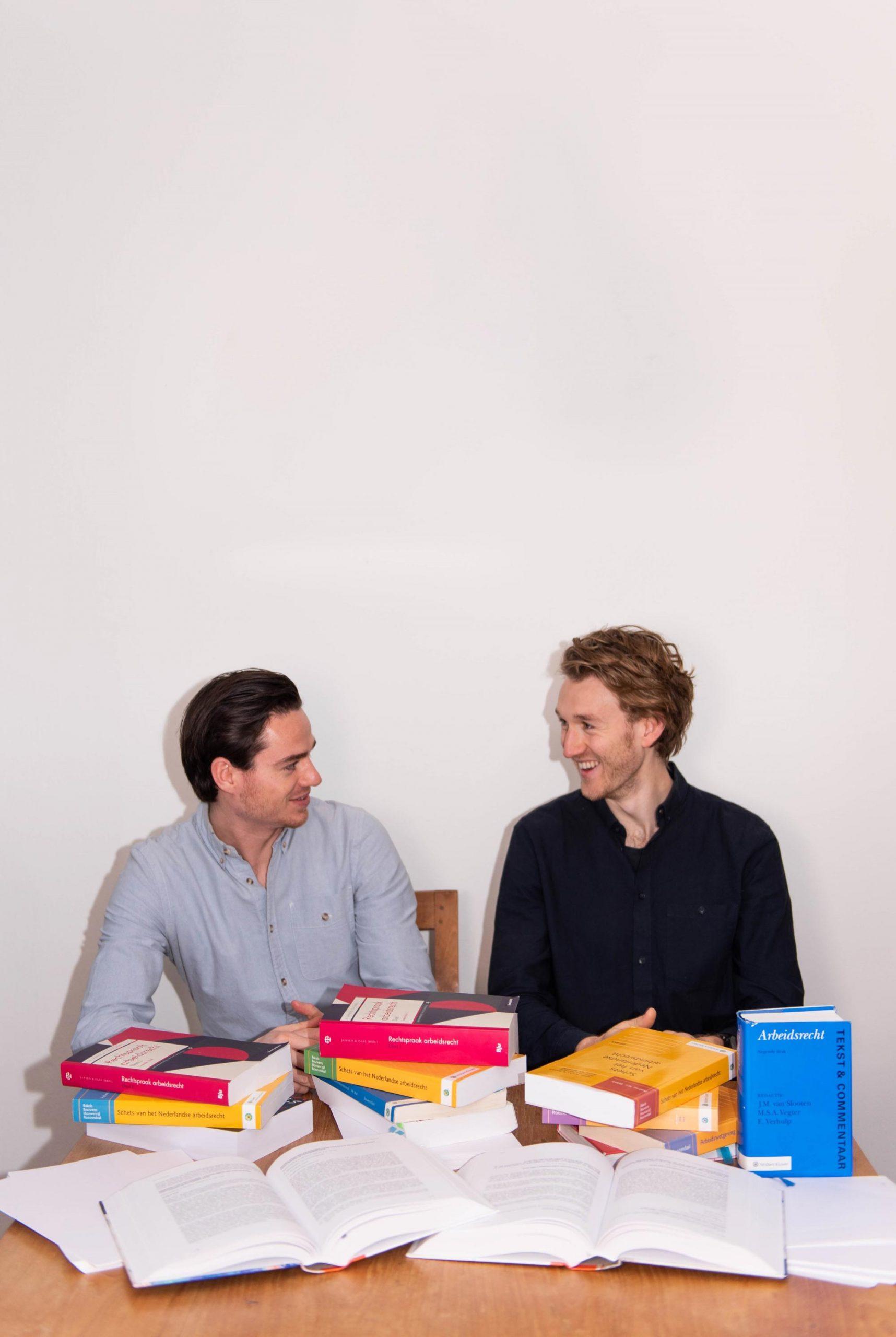 Hidde Bruinsma en Niels van der Neut
